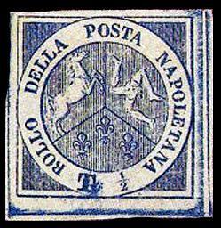 francobollo trinacria raro garibaldi napoli