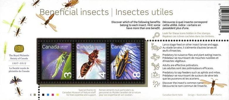 Microprinting = '© 2012' e nomi comuni degli insetti in inglese e